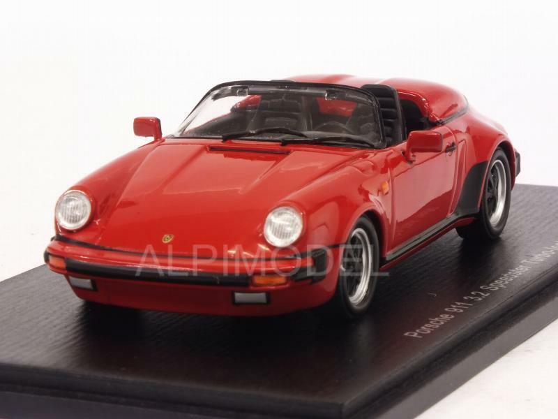 Porsche 911 3.2 Speedster Turbo-Look 1989 rojo 1 43 SPARK S4471