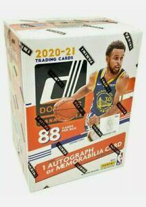 2020-21 Panini NBA Donruss Basketball Blaster Box Factory Sealed Autographed Mem