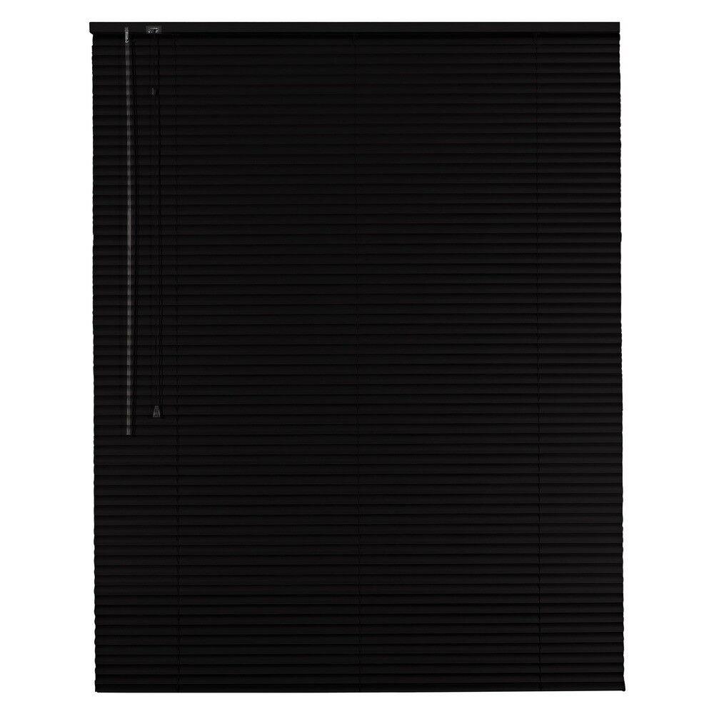 Aluminium Jalousie Alu Jalousette Jalusie Jalusie Jalusie Fenster Rollo - Höhe 130 cm schwarz | Moderne Muster  bd6b6c