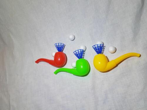 8 Stück Schwebender Ball Pusteball in Pfeifenform Mitgebsel Kindergeburtstag