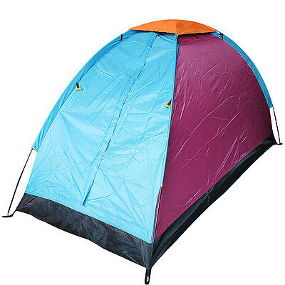 1 Person Travel Outdoor Camping Tent Waterproof Single Layer Single Door Tent