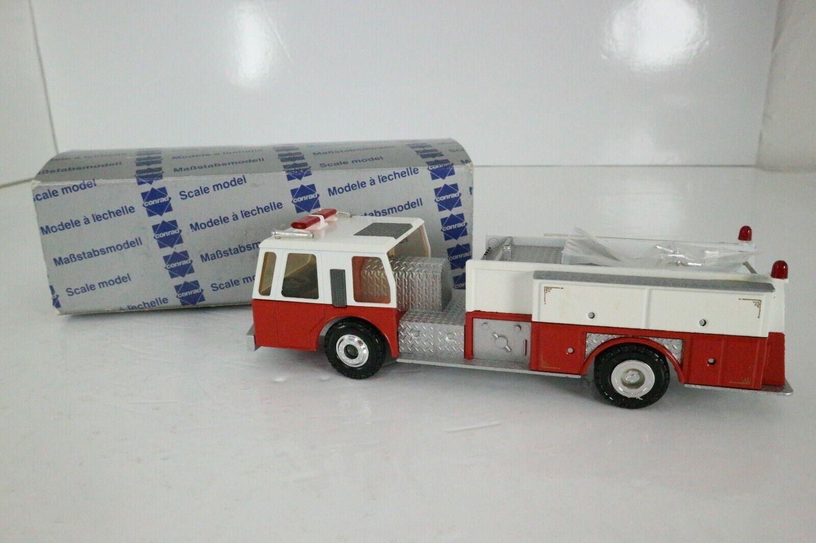 CONRAD DIE CAST 1 50 5508 EMERGENCY PUMPER FIRE TRUCK METAL