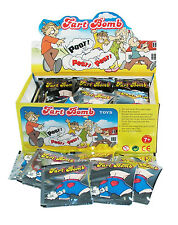 Fart Bomb Bags - 1 Display Box - 72 Pieces - Lots of Noise!! Lots of Stink!!!