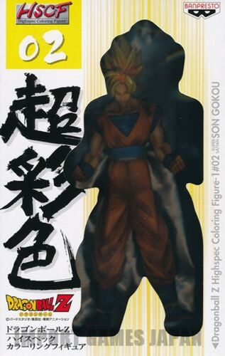 Dragonball Z figurine BANPRESTO DBZ HSCF #02 Super Saiyan Son Goku Figure nous vendre
