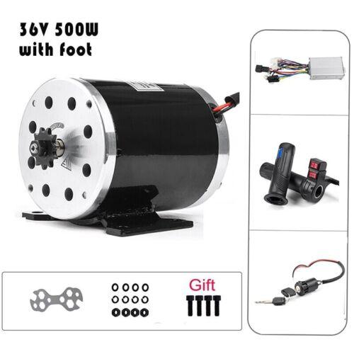 Details about  /Electric Scooter Brushed Motor 24v//36v//48v Conversion Kit 500W 1000W DC Brushed