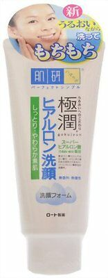 Rohto Hadalabo Super Hyaluronic Acid Cleansing Foam 100g From Japan