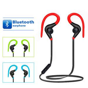 Wireless Bluetooth Headphones Sports Gym Earbuds Earphones For Iphone Samsung Uk Ebay