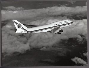 EGYPT AIR BOEING 747-300 SU-GAL LARGE PHOTO