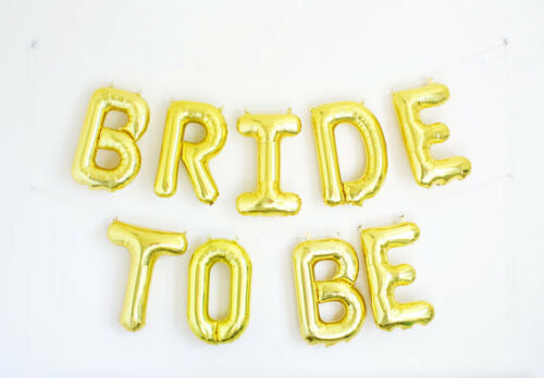 """ROSE GOLD /""""BRIDE TO BE/"""" /""""HEN PARTY/"""" /""""TEAM BRIDE/"""" BALLOON DECORATION 16/"""" UK"""