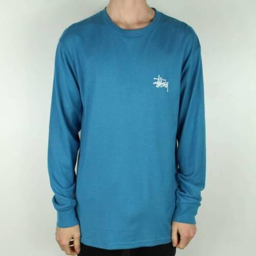 T Stussy shirt Neuf Manches Ocean Longues Basique L Dans Taille Zddwq7