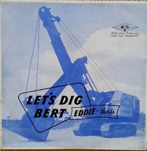RARE-EDDIE-BERT-LET-039-S-DIG-BERT-LP-AUSSIE-PRESS-W-amp-G-MONO-WG-BHM-437
