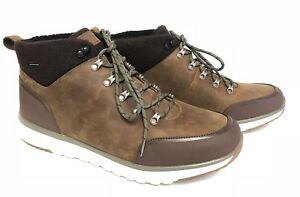 6e9c23e73b5 Details about Ugg Australia Olivert Men's Lace Up Ankle Boot Shoe  Waterproof Grizzly 1017275