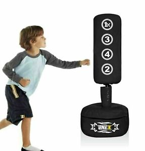 ONEX Free Standing Boxing Punching Bag Stand For Kids Target Heavy Duty Perfect For Junior Practice Punch Bags Kickboxing MMA Martial Arts Sports Fitness equipment Pads Dummy Gym Equipment for Home