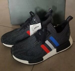 info for 8b109 4ffd4 Details about Adidas NMD R1 PK Primeknit Tri Color Black Stripes (BB2887)  US9.5