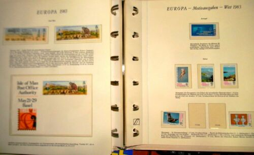 EUROPA CEPT STAMPS, 1983 YEAR **MNH, CV 190 EURO