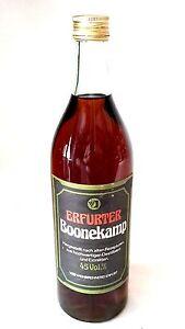 Veb Weinbrennerei Erfurt Boonekamp Original Rda 0,7 L 45% Vol Ppe 13,50 Mark-afficher Le Titre D'origine