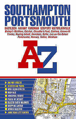 1 of 1 - Southampton and Portsmouth Street Atlas-ExLibrary
