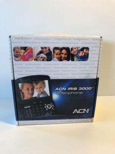BRAND NEW ACN IRIS 3000 US VOIP Digital Internet Video Phone Complete