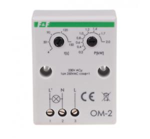 F-amp-F-OM-2-Stromverbrauch-Begrenzer-230V-16A-2000VA-IP20-Power-consumption-limiter