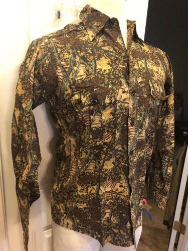 Shirt Bushlan Tg Camo Caccia Mimetica Camouflage Casual Camicia Pesca M ZA7fnOY
