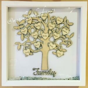 Extra Large Family Tree Frame Up To 20 Plus Names All Occasions Ebay