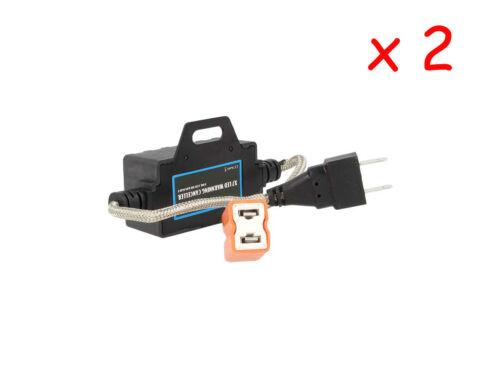 2 Pz Filtro Resistenza Per Kit Led Headlight H7 H1 H3 Canbus No Errore 12V 40W