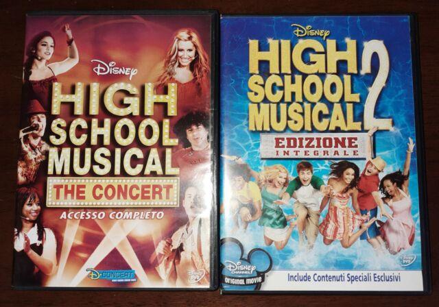 High School Musical 1, High School Musical 2. Ottimi. 2 DVD