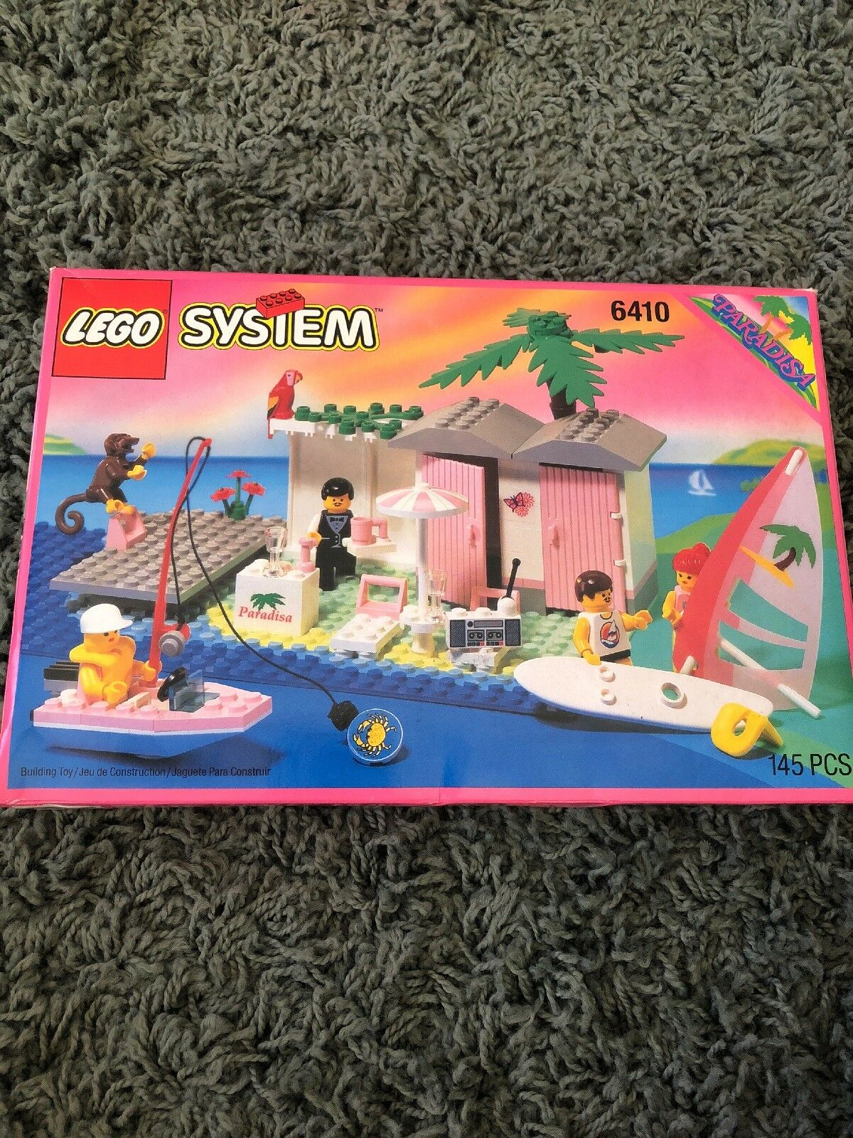 New Factory Sealed LEGO 6410 Paradisa Cabanna Beach Lego set from 1994  Exc cond