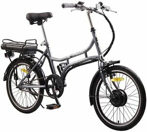 Ebike Mantra Electric Bike Metallic Grey Bike **MANUFACTURER REFURBISHED**