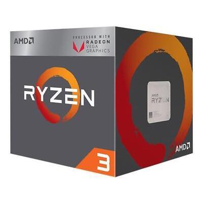 AMD RYZEN 3 2200G Quad-Core 3.5 GHz (3.7 GHz Turbo) Socket AM4 65W YD2200C5FBBOX