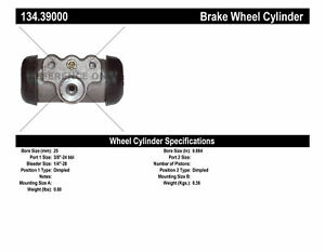 Centric Parts 134.39000 Drum Brake Wheel Cylinder