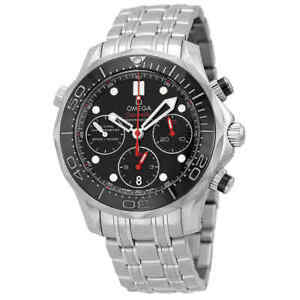 Omega-Seamaster-Diver-300-M-Co-Axial-Chronograph-41-5-mm-Men-039-s-Watch