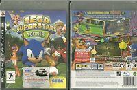 Jeu Playstation 3 Ps3 : Sonic Superstars Tennis ( Neuf Emballe ) En Francais