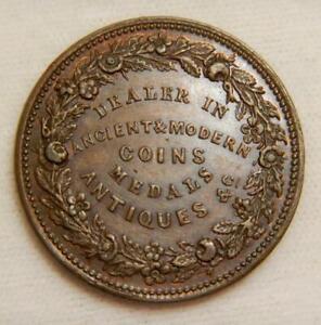 United Kingdom 1834 Coin Dealer 1/2 Penny Token -William Till