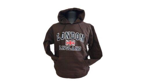 Licenza Ufficiale LONDRA INGHILTERRA accosta felpa con cappuccio stampata unisex
