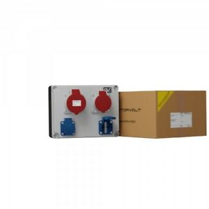 Building Site Distribution Board 32A 16A 2x230V Wall Garden Outlet Fred 2169