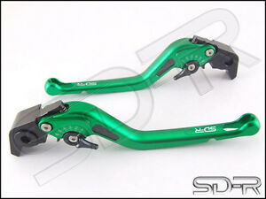 2009-2011-Ducati-1198-S-R-Carbon-Fiber-inlay-Long-SDR-Adjustable-Levers-Green