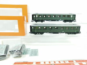 BJ50-1-2x-Roco-exclusiv-H0-DC-44537-Personenwagen-13936-AB4uee-DB-NEM-s-g-OVP