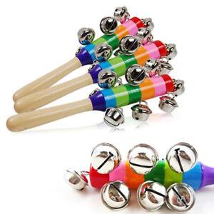 Wooden-Shaker-Bell-Ring-Jingle-Hand-Bells-Newborn-Christmas-Gift-Hand-Holder-Toy