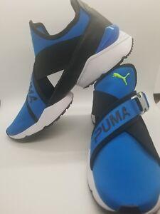Damen Puma Muse EOS Größe 9.5 Blau Sneakers   eBay