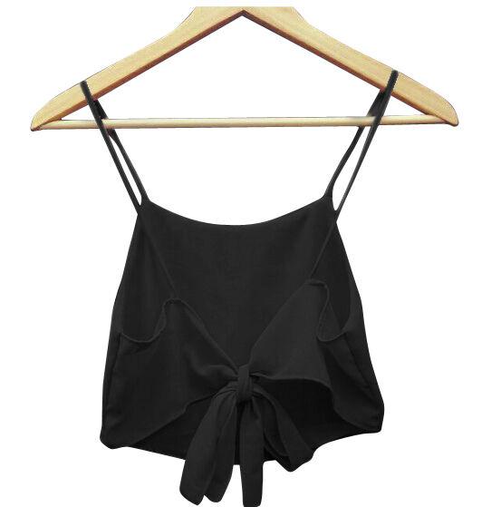 Fashion Sexy Women Sleeveless Camisole Shirt Summer Casual Blouse Crop Tops Bra