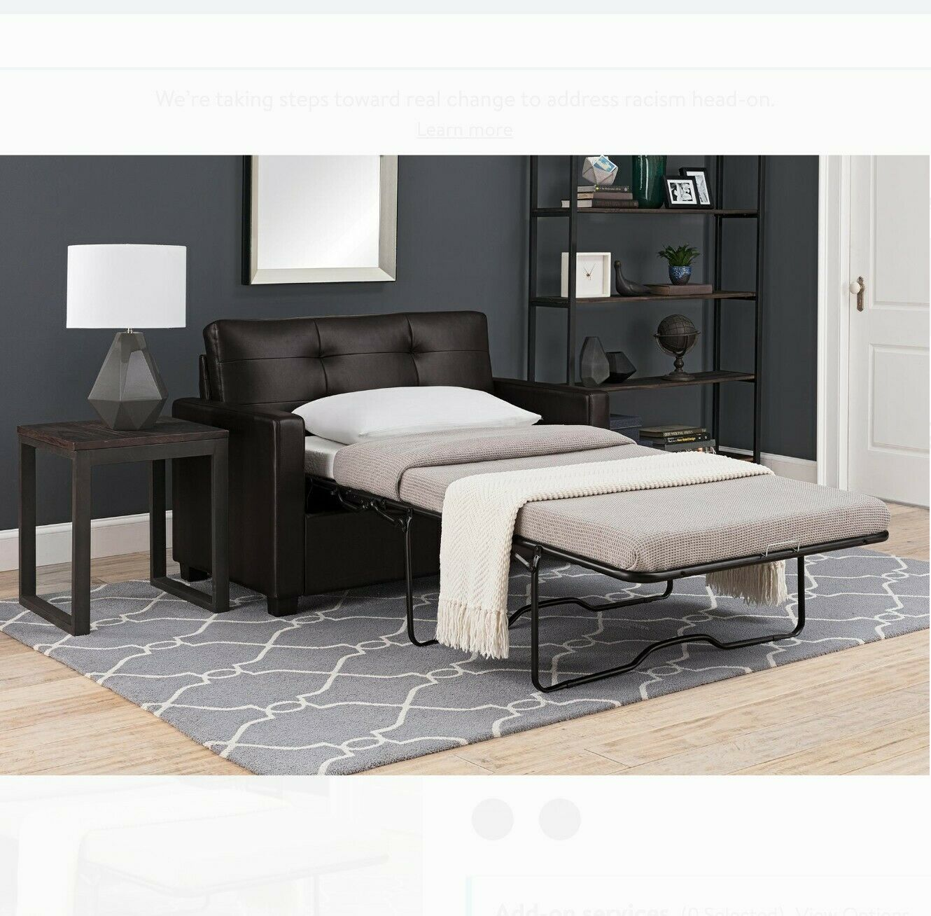 Us Pride Furniture Kathy Reversible 5 1 Foam Fabric Loveseat And Sofa Bed Couch For Sale Online Ebay