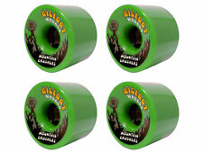 Bigfoot Wheels MOUNTAIN CRUISER 76mm (80a) GREEN Longboard/Cruiser Rollen