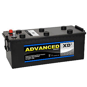 Image Is Loading 12v 637 Heavy Duty Tractor Battery 140ah 900cca