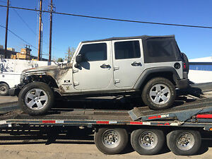 07 2010 Jeep Wrangler Jk 4 2 Door Frame Chassis Front Section We Cut