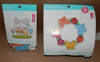 Trimits PomPom Maker Kit Kids Crafts Christmas Easter Chick//Sheep//Unicorn//Fairy