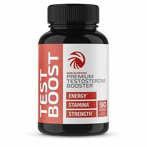 Nobi Nutrition Premium Testosterone Booster for Men - Male Enhancing Pills 90CT 709618228027 eBay