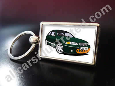 Land Rover green solid metal key ring fob chain cover /& Tyre valve dust caps