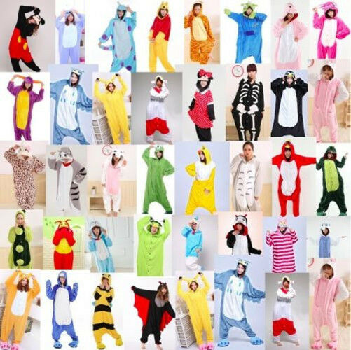 Sale Kids Pajamas Kigurumi Unisex Cosplay Animal Costume bodysuit Sleepwear