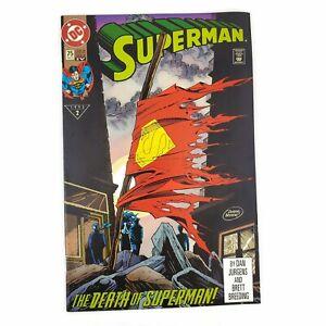 DC-Superman-75-1993-The-Death-of-Superman-Standard-Edition-4th-Print-VF-NM